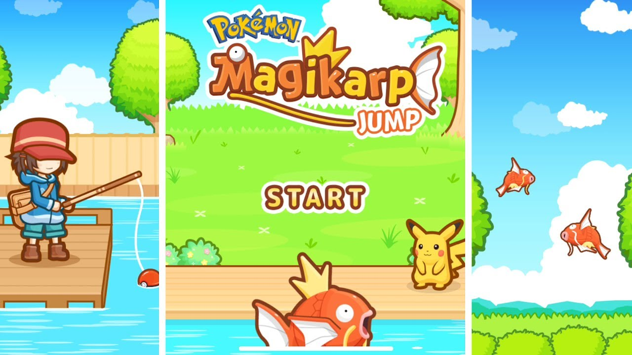 96ab1ff7 Pokémon: Magikarp Jump | English Gameplay - YouTube