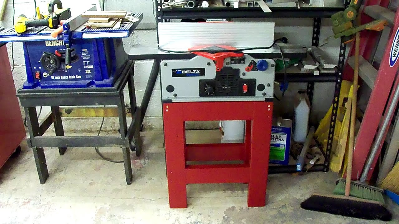 Building A Stand For My 6 Jointer Doovi