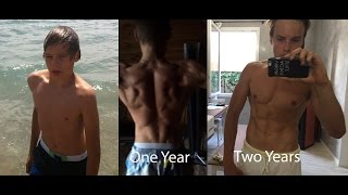 2 years Street workout transformation - 17 years old (Calisthenics Venezia) - New motivation 2016!