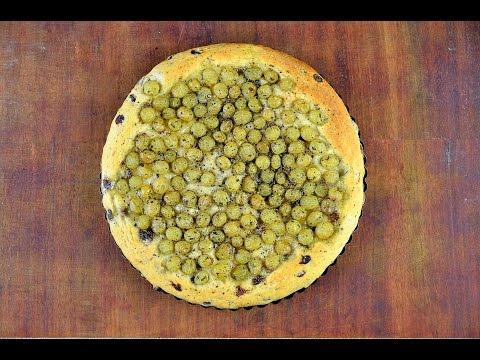 Итальянский пирог с виноградом
