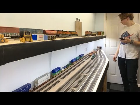 LIVE at the BNSF Plains Division Layout