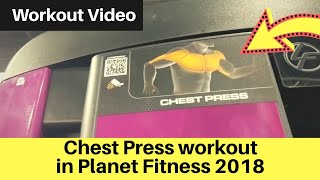 Chest Press Workout Planet Fitness 2018