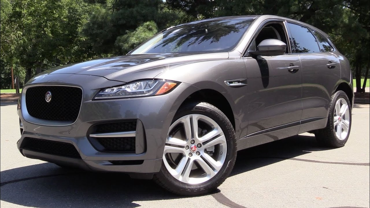 2017 Jaguar F Pace 35T R Sport >> 2017 Jaguar F Pace 35t R Sport Start Up Road Test In Depth Review