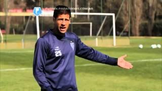 Lecciones de fútbol. Cabezazo defensivo. Sebastián Domínguez. Fútbol Para Todos
