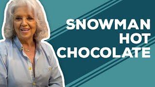 Quarantine Cooking: Snowman Hot Chocolate Recipe
