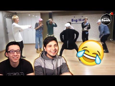 GUYS REACT TO BTS 'Baepsae' Dance Practice