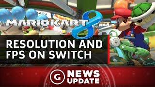 Mario Kart 8 Nintendo Switch Resolution and Frame Rate Revealed - GS News Update