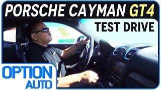 Test Drive • Porsche Cayman GT4 (Option Auto)