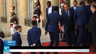 فيديو..هولاند يكرم المنتخب الفرنسي