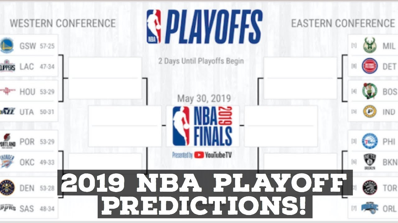 2019 NBA Playoffs: Official Playoff Predictions For