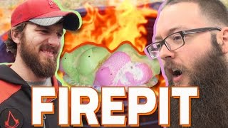 Fire Pit and Exploding Peeps
