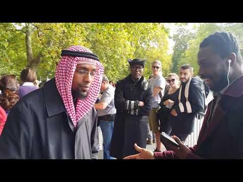 Br-Zakariya Attacked Man of God - Speakers Corner Hyde Park London 8-10-17.