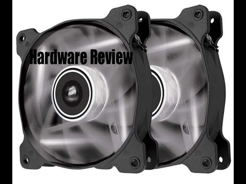 Corsair AF120 Fan review with current test