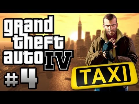 [GTA IV] | Part 4: Crazy Taxi Driver