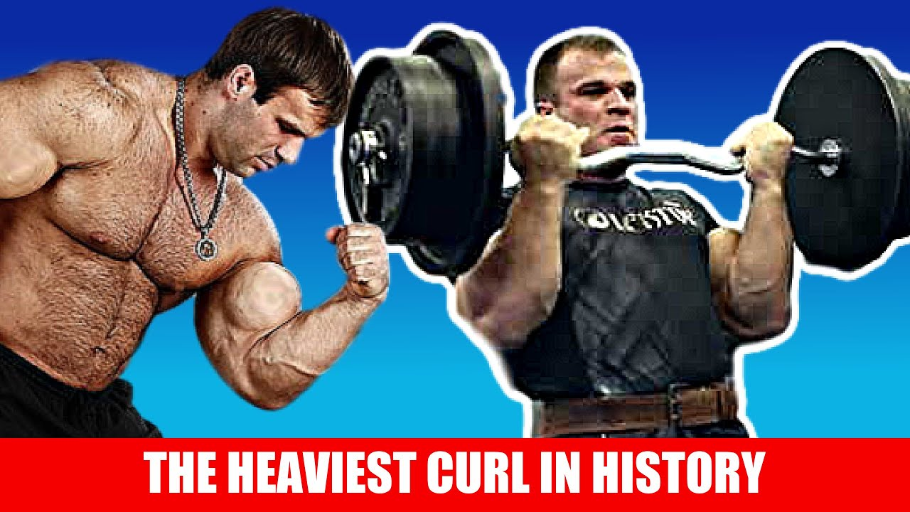 The World's Strongest Biceps - Heaviest Curl Ever