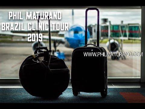 Phil Maturano Brazil Clinic Tour 2019 - part1