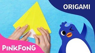 El Pingüino | Pinkfong Origami | PINKFONG Canciones Infantiles