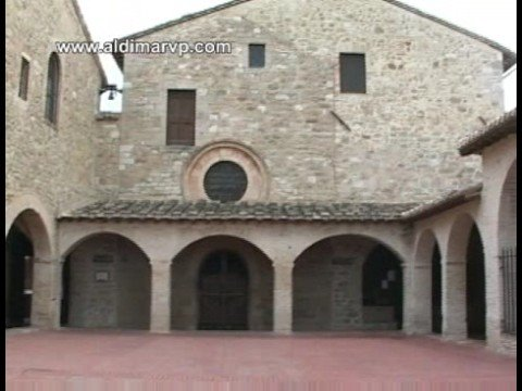 Rocca Maggiore and San Damiano, Assisi, Italy
