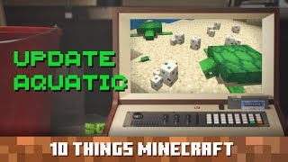 Update Aquatic: Ten Things You Probably Didn't Know About Minecraft