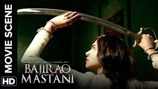 Deepika Practices Her Sword Skills   Bajirao Mastani   Movie Scene