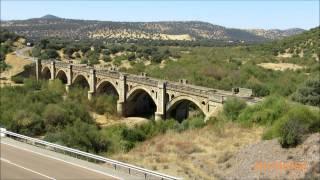 Regional y carboneros por los puentes del río Guadalmez y río Alcudia