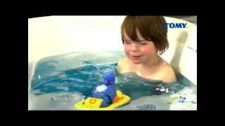 TOMY Aqua Fun śpiewający hipcio do kąpieli REKLAMA TV www.manfi.pl