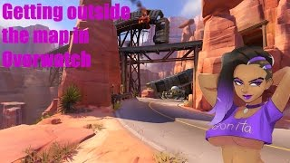 Overwatch How to Get Out of the Map Route 66, Gibraltar, Kings Row and Numbani. 100% WORKS