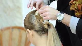 Коллекция причесок MIX    Видео уроки, видео мастер класс, обучение   Hairlife ru
