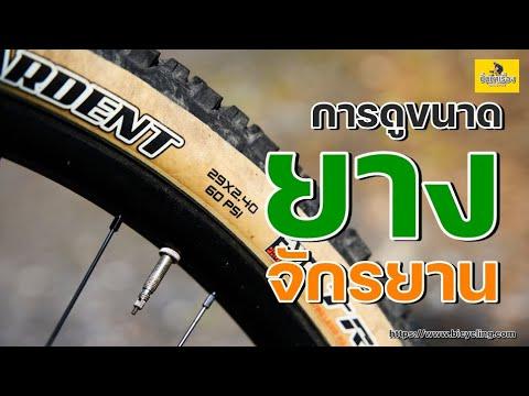 EP.70 ขนาดยางจักรยาน  วิธีดูขนาดยางจักรยาน ขนาดยางจักรยาน