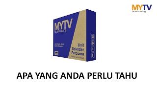 MYTV Basic: Apa yang anda perlu tahu