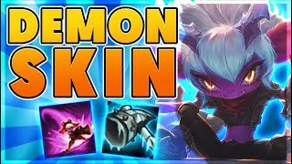 *HOLY ANIMATIONS 👀* NEW LEGENDARY SKIN FOR MY BEST RANKED CHAMPION (👊NUTTY PENTAKILL👊) - BunnyFuFuu