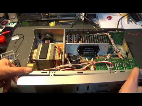 Sony TA V3 Stereo Repair with a Dead Amplifier