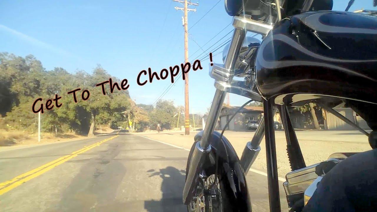 how to ride a chopper