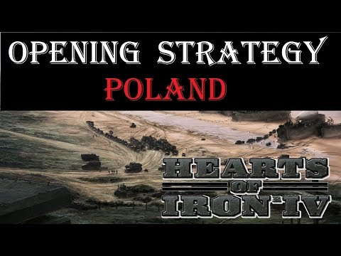 Hearts of Iron 4 Opener - Poland starting strategy