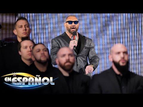 ¡Triple H y Batista; cara a cara!: En Español, 14 de Marzo, 2019