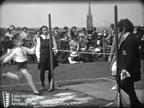 GIRLS' GRAMMAR SCHOOL SPORTS 1938