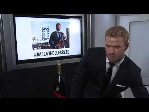 Kellan Lutz Interview - Mumm Champagne Party