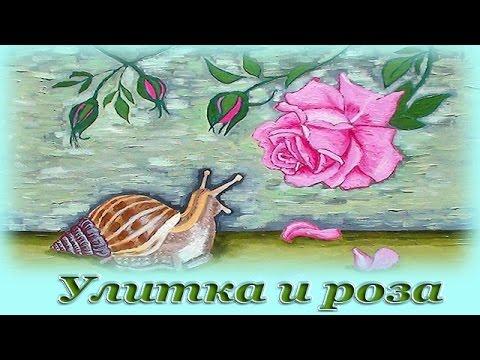 Роза и улитка андерсен