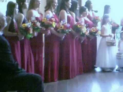 Jennifer Burger and James Horan Wedding