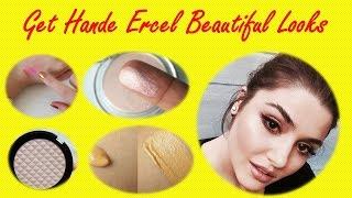 Hande Ercel Hayat Beauty Looks and Secrets