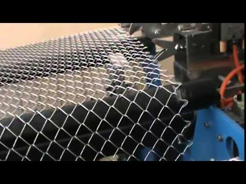 full automatic system wire mesh machine chain link fence machine fencing machine