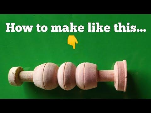 Carpenter lathe work / carpenter lathe machine/wood work/wood carving design