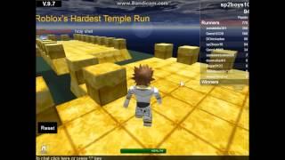 Roblox Hardest Temple Run-Double Video!