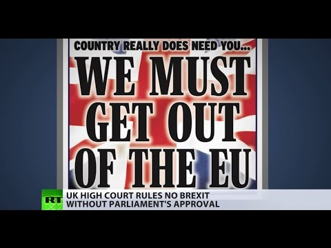No Brexit without Parliamentary approval, UK High Court rules