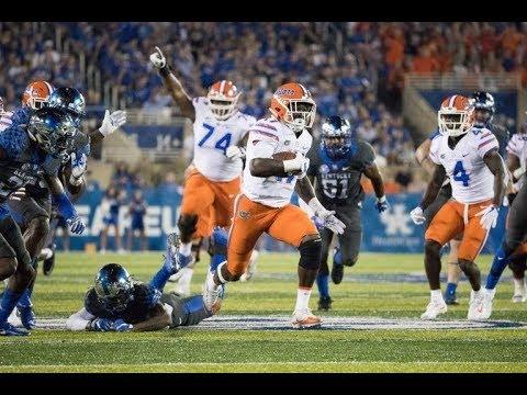 #20 Florida Gators vs. Kentucky Wildcats 2017 Highlights || College Football Week 4 ᴴᴰ