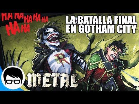 METAL - LOS CABALLEROS OSCUROS ATACAN GOTHAM | Gotham Resistance (Parte Final) | COMIC NARRADO