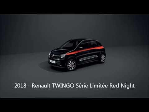 RENAUTL TWINGO série limitée Red Night