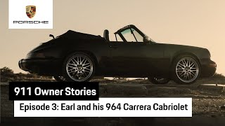 911 Owner Stories: Earl and his 964 Carrera Cabriolet