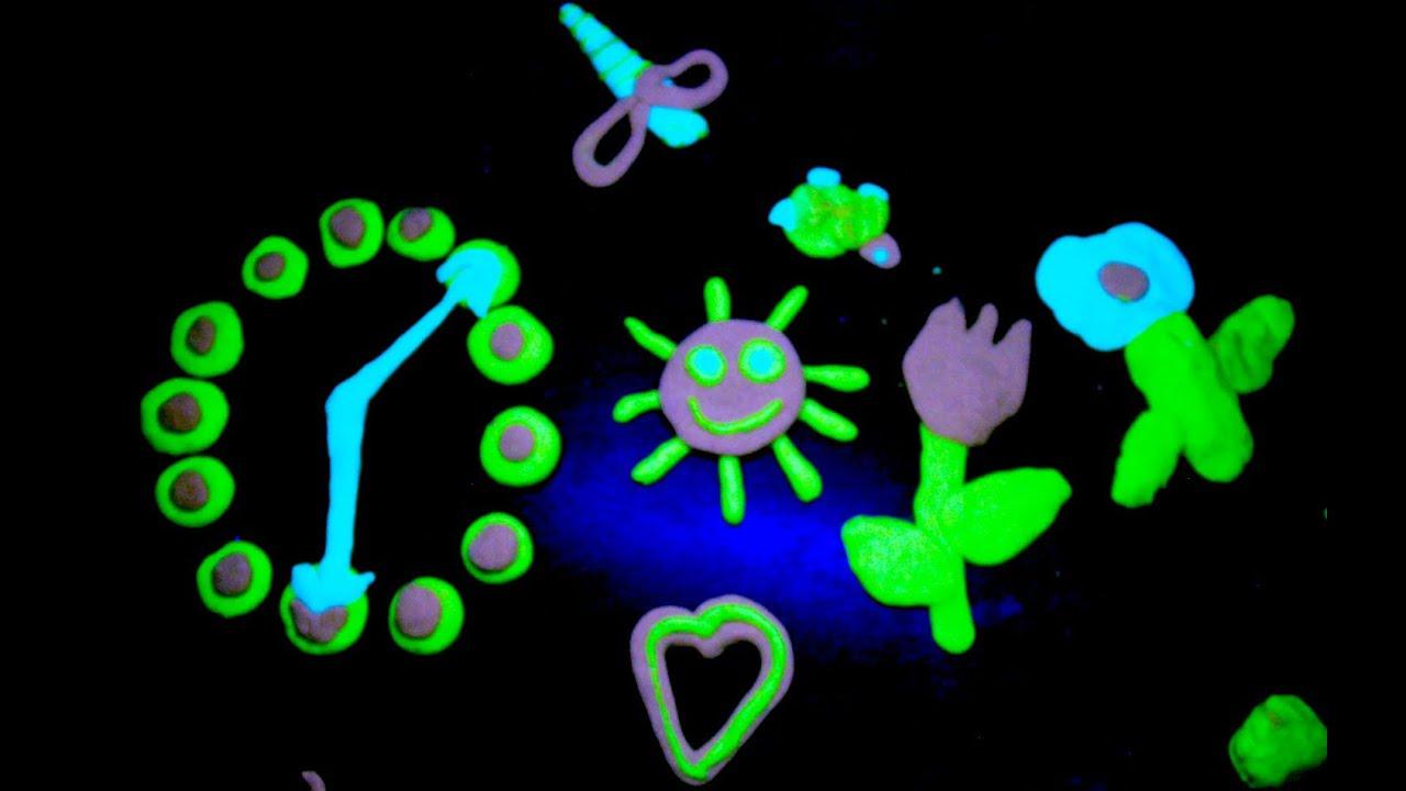 glow dark play doh
