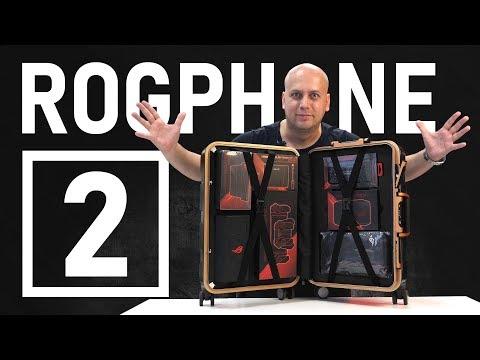 Чемодан ASUS ROG Phone 2 за 130 000 рублей / РАСПАКОВКА / ИГРОВОЙ ТЕСТ